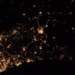 foto gaza dari luar angkasa 1