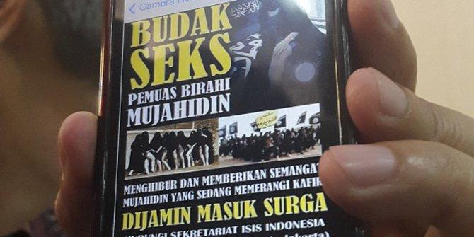 ISIS Ajak Wanita Jadi Budak Seks Jihad Agar Masuk Surga