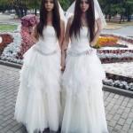 Suami Istri Menikah Pakai Baju Pengantin Yang Sama