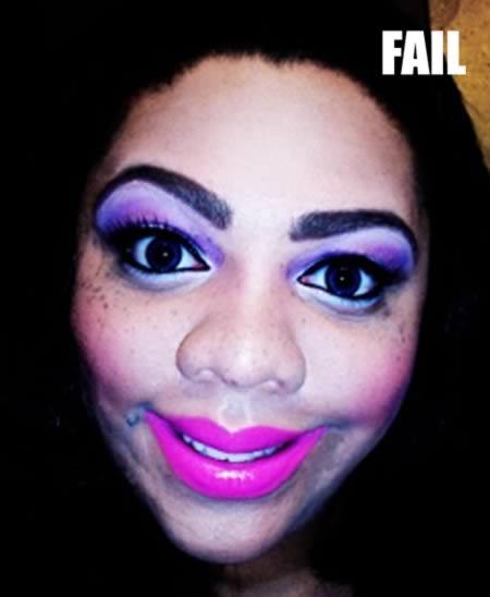 fail make up