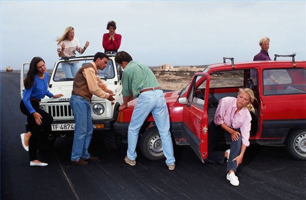 Rambut Ketiak Sopir, Lima Remaja Kecelakaan