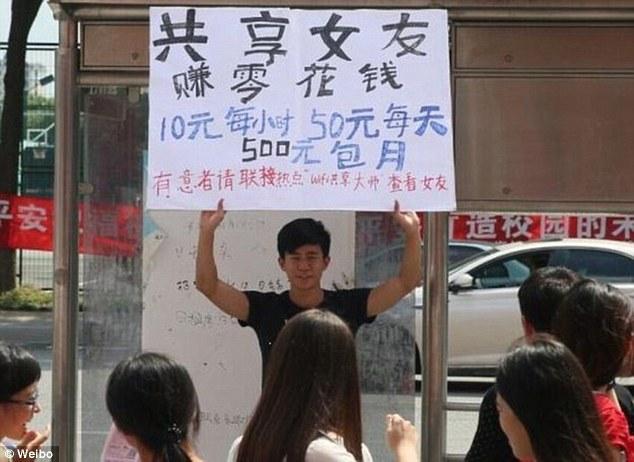 Pria di Beijing Sewakan Pacar Demi iPhone 6