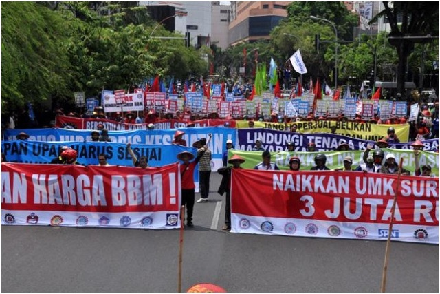 Apindo Keberatan Dengan Keputusan UMK 2015 Kota Surabaya