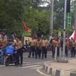 Demontrasi Kenaikan BBM Diwarnai Aksi Telanjang