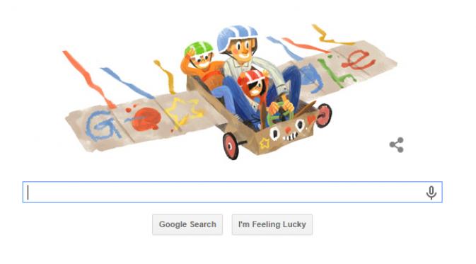 Google Doodle Turut Memperingati Hari Ayah