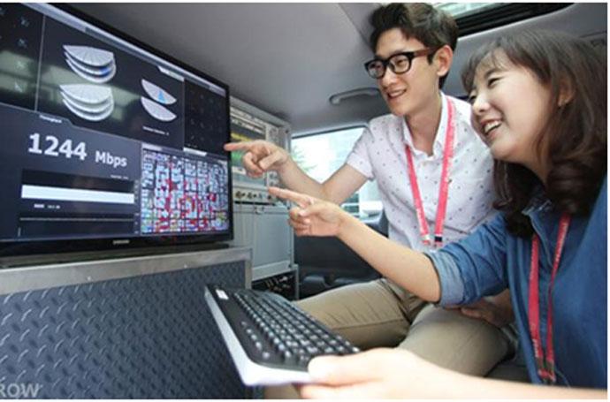 Ilustrasi Internet 5G Samsung