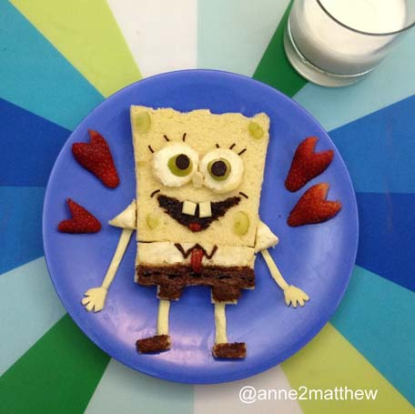 Sponge Bob Square Pants - (c)anne2matthew