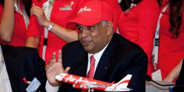 Air Asia Hilang, Tony Fernandez Kunjungi Surabaya