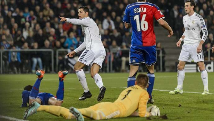 Basel vs Real Madrid, 0-1