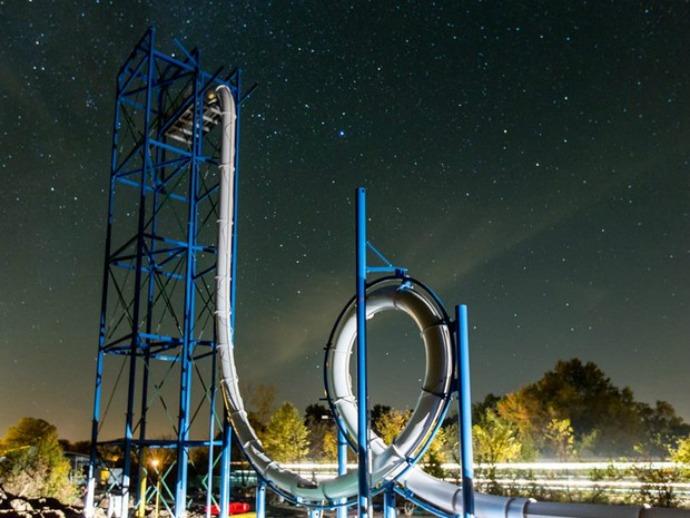 Skycalibre, Terowongan Air Paling Menantang