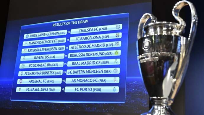 Drawing Babak 16 Besar Liga Champions