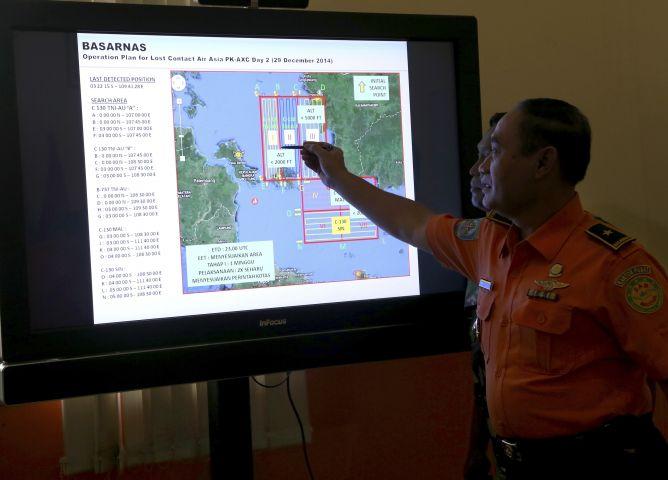 Dugaan Awal, Pesawat Air Asia Berada Di Dasar Laut