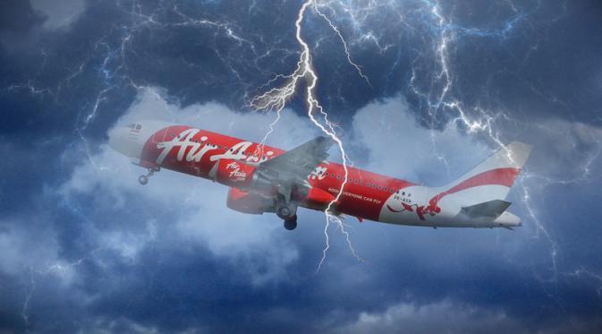 Dugaan Penyebab Hilangnya Pesawat Air Asia