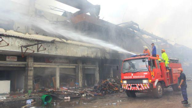 Kebakaran Pasar Klewer