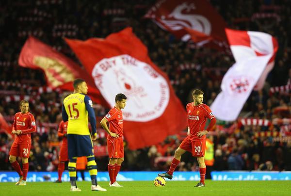 Liverpool vs Arsenal Berakhir Dengan Skor 2-2