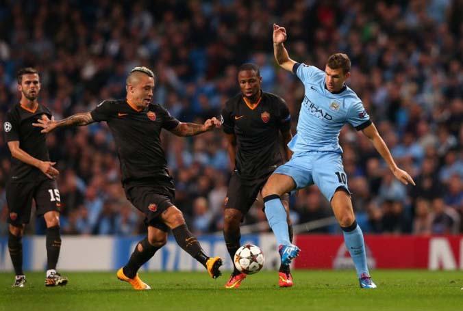 Preview Pertandingan Roma vs Manchester City