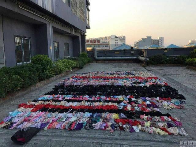 Pria Ketahuan Mencuri Pakaian Dalam Wanita di Atap Apartemennya (2) SHANGHAIIST