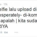 Selfie itu Riya