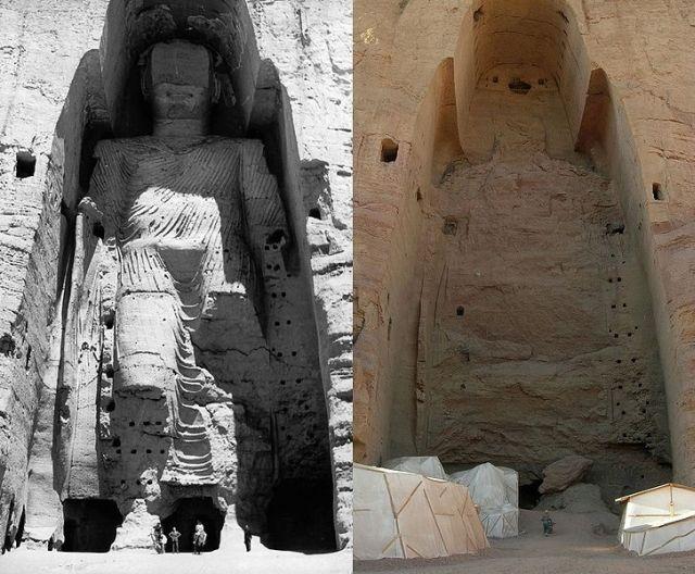Patung Buddha di Afganistan