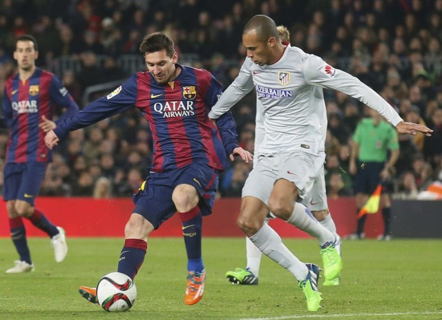 Barcelona Menang Tipis Atas Atletico Madrid Dalam Copa del Rey 2015