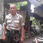 Bripda Taufiq Polisi Sederhana Hidup Di Kandang Sapi