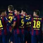 Hasil Copa del Rey 2015, Barcelona vs Elche Berakhir Dengan Skor 5-0