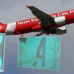 Kenampakan Pesawat Air Asia