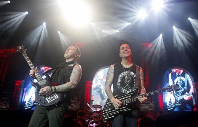 Konser Avenged Sevenfold Terlihat Penuh Sesak