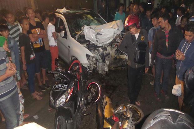 Kronologis Kecelakaan Pondok Indah