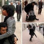 Pelukan Terakhir Shaimaa el-Sabagh Untuk Sang Suami