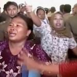 Pengosongan gedung membuat warga di Gorontalo histeris