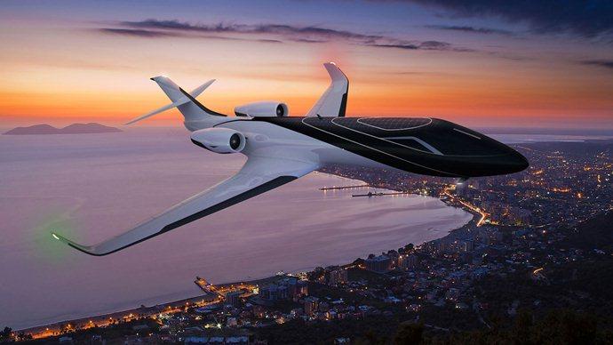 Exterior pesawat