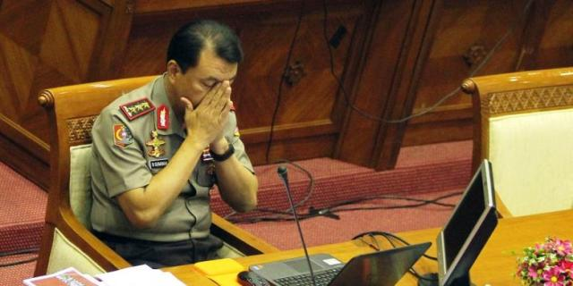 Presiden Joko Widodo Tunda Pelantikan Komjen Budi Gunawan