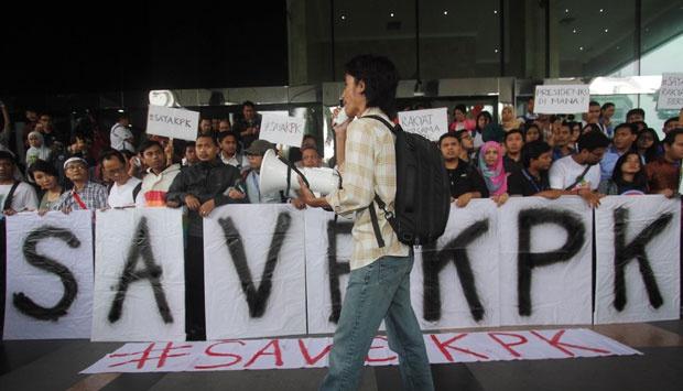 Save KPK Menjadi Trending Topic Twitter
