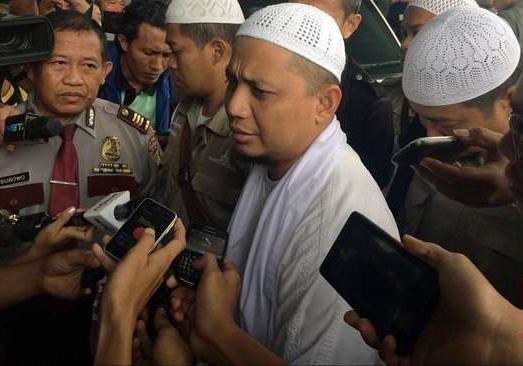 Uztads Arifin Ilham mendatangi KPK untuk ceramah rutin