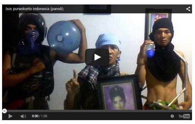 Video Parodi Ancaman ISIS