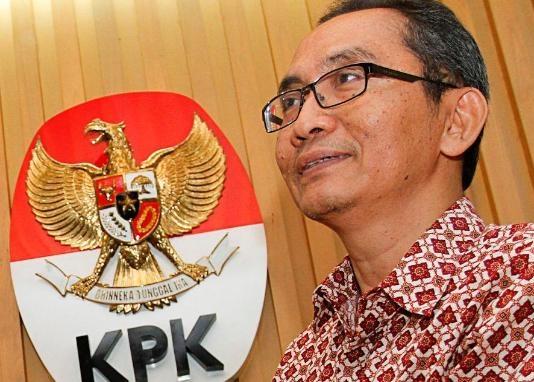 Wakil Ketua KPK, Adnan Pandu Praja