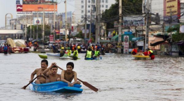 Banjir di Bangkok, Thailand