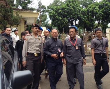 Budi Gunawan datang ke Mabes Polri memenuhi panggilan (c) detikdotcom