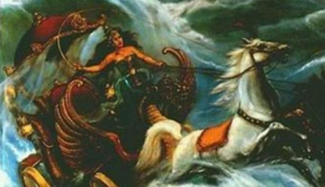 Nyi Roro Kidul, sang penguasa Laut Selatan   copyright viva.co.id