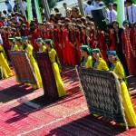 Festival karpet Turkmen