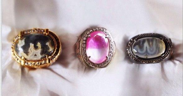 Koleksi cincin batu akik ibu Ani | copyright instagram/aniyudhoyono