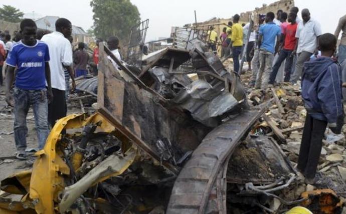 Ledakan terjadi di Nigeria (c)reuters