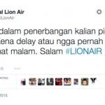 Tweet Lion Air
