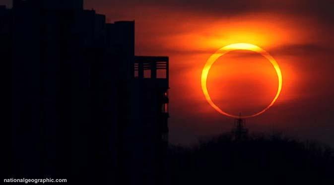 Gerhana Matahari (cybersulutdaily )