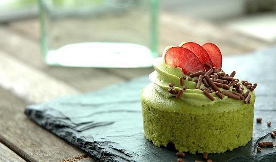 Green Tea Cheesecake (c) moodeventsllc