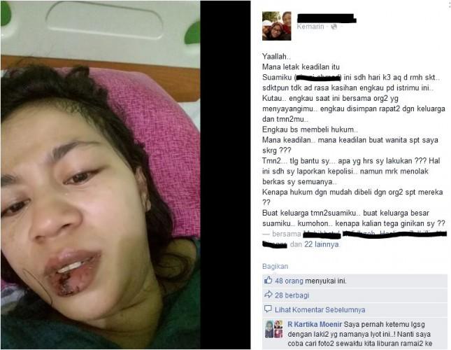 Suami Belum Menjenguk (via)Facebook