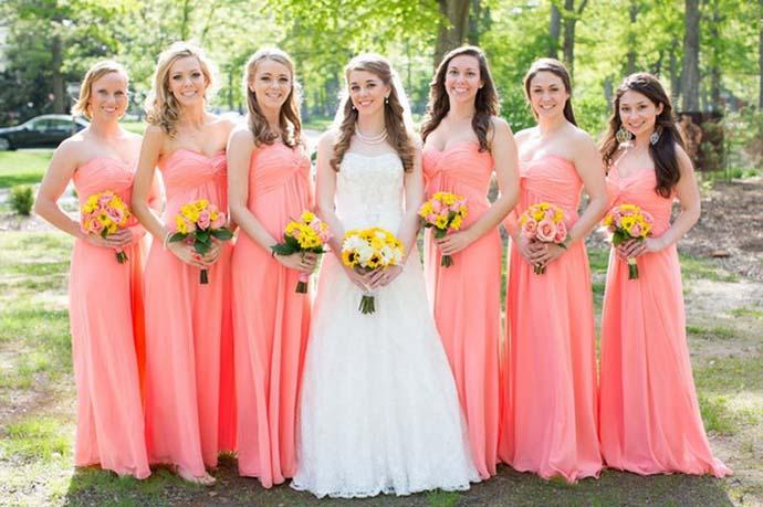Baju Senada Pengiring Pengantin (c) brideboxBaju Senada Pengiring Pengantin (c) bridebox