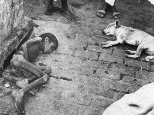 Kelaparan di Bengal (c) Listverse