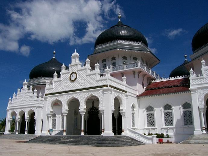 Masjid Raya Baiturrahman Aceh (c) wikipedia